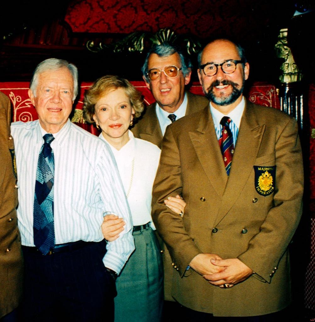 Präsident Carter, Rosalynn Carter,  Gottfried Rieck