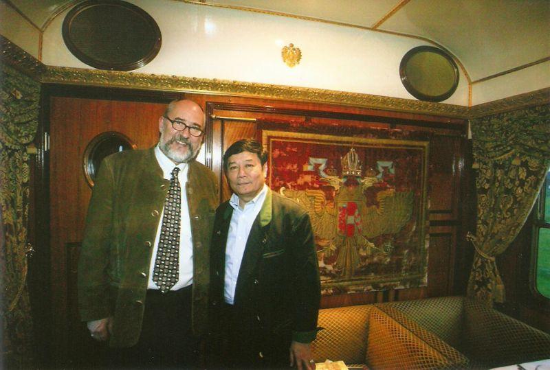 Gottfried Rieck, Japanischer Botschafter